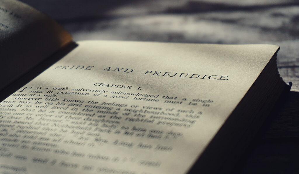 първа-глава-гордост-и-предразсъдъци-Самоиздател-платформа-за-създаване-на-книги-
